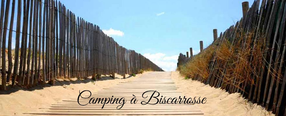 camping biscarrosse